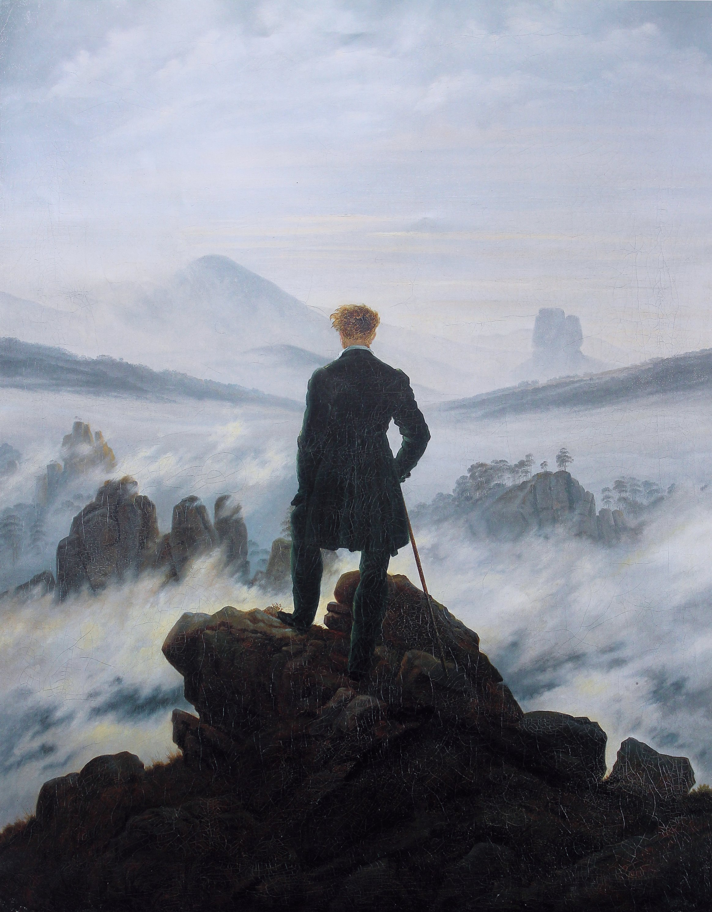 Image result for victor frankenstein on the mountains talking
