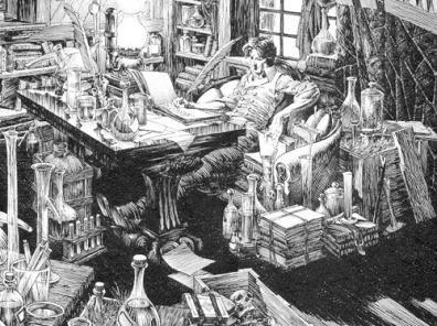 victor frankenstein laboratory