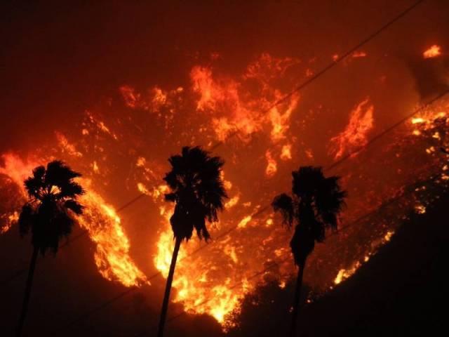 CA fire pic
